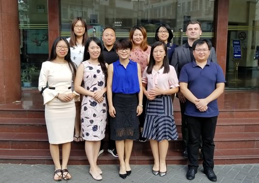 KCI China office group photo